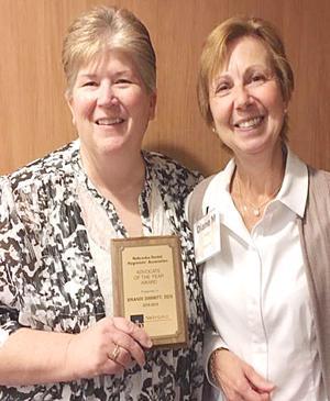 Dr. Brandi Dimmitt receives recognition
