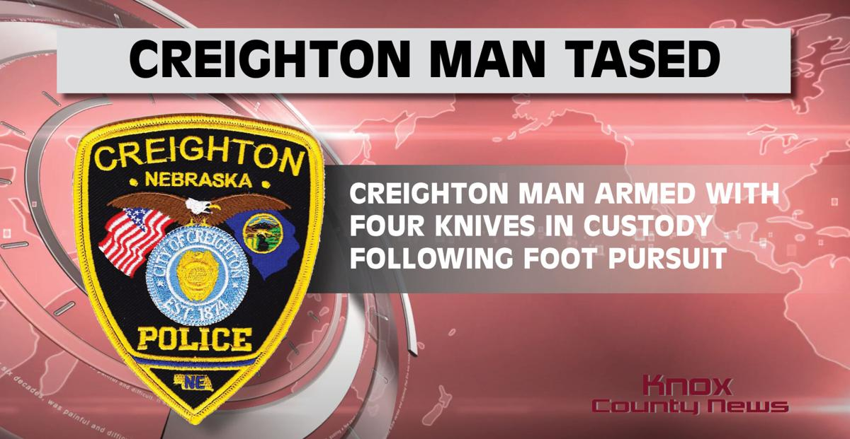 Creighton Man Tased After Foot Pursuit By Police