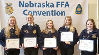 State FFA Degrees awarded