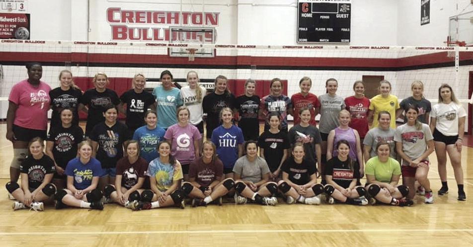 High school volleyball camp