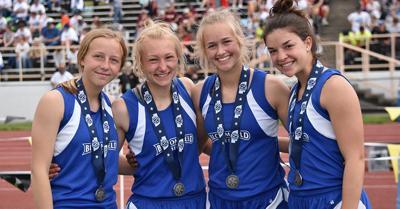 Bloomfield girl's relay