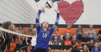 Bloomfield took on the Tigers from Osmond Tuesday night.