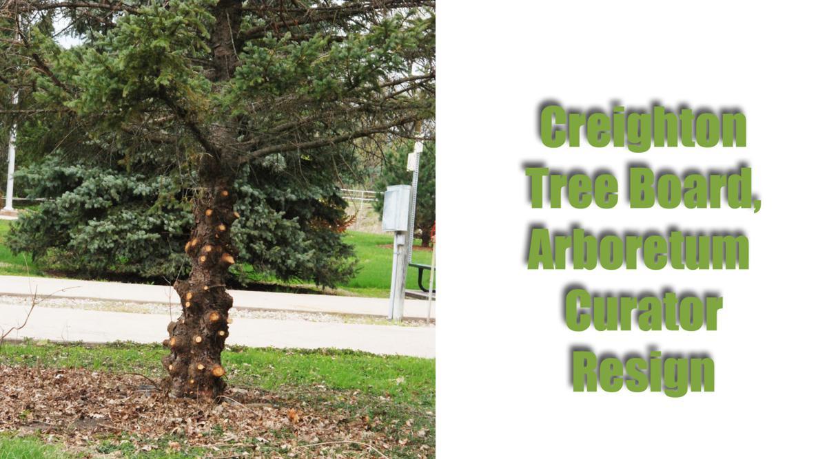 Creighton tree officials resign