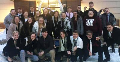 Wausa Speech Team At WSC