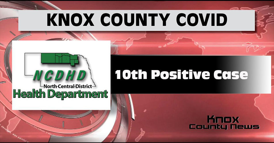 Knox County Reports 10th Positive COVID-19 Case