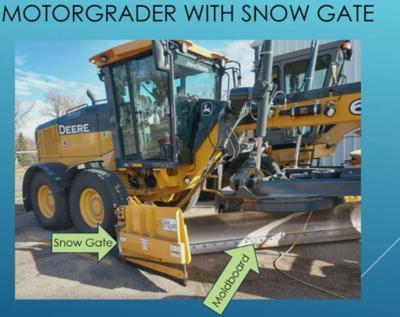 Watertown Street Depatment Snow Gates