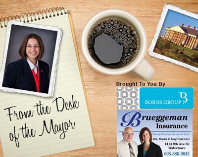 desk of tehe mayor