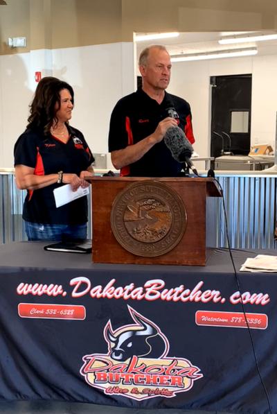 Randy and Karen Gruenwald of Dakota Butcher