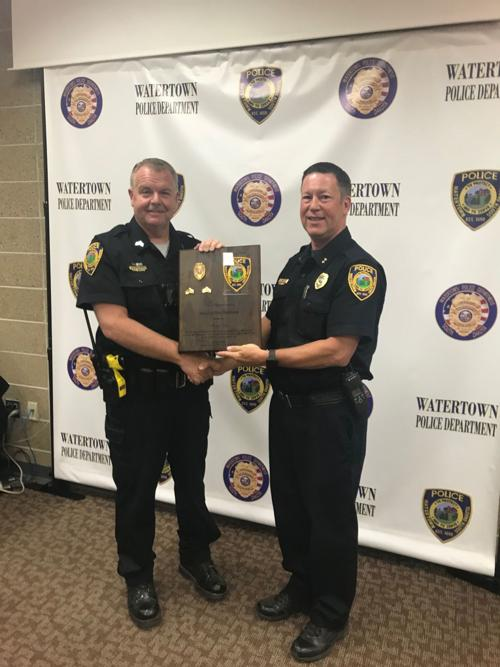 Watertown Police Veteran Troy VanDusen Retires And Will