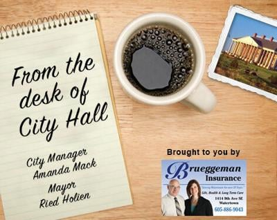 from the desk of city hall