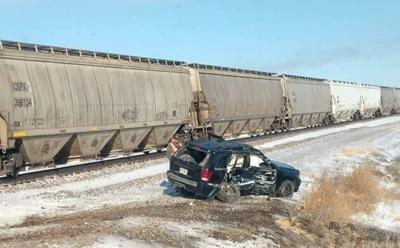 Grant County Car Train Crash