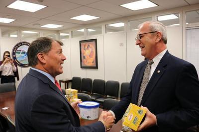 US Senator Mike Rounds and North Dakota Senator Kevin Cramer
