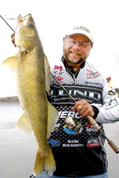 Hall of Fame professional walleye fisherman Mark Martin