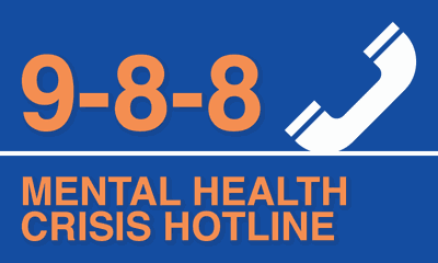988 Mental Health Crisis