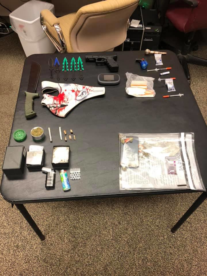 Roberts County Drug Arrest