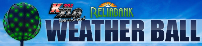 KXLG & RELIABANK WEATHER BALL