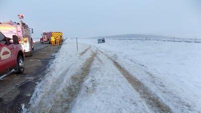Hamlin County Rollover Crash