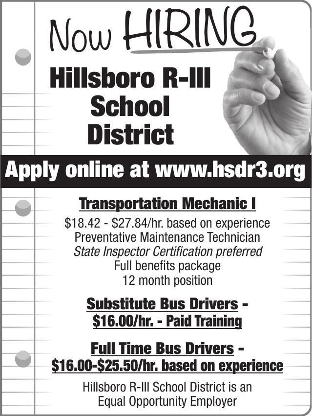 Hillsboro Public Schools Now Hiring