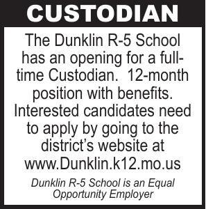 Dunklin School Custodian