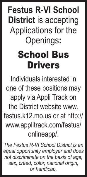 Festus R-6 School District Bus Drivers