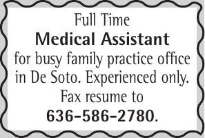 Desoto Family Practice Medical Assistant