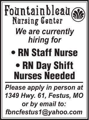 Fountainbleau Nursing Center RN Staff Nurse