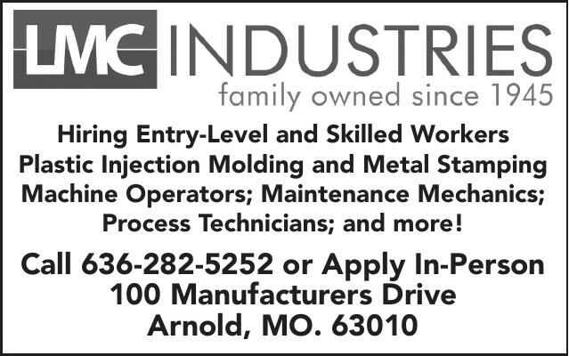 LMC Industries Entry Level Skilled Workers