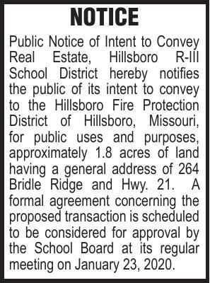 Hillsboro School 264 Bridle Ridge