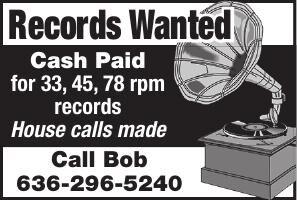 Bob Brown Records Wanted
