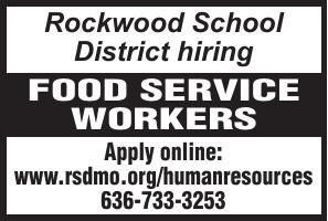 Rockwood School District Food Service Workers