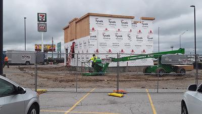A Dunkin' drive-thru restaurant is being built in Festus.
