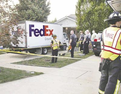 Truck smashes into vacant Fenton villa   Accidents