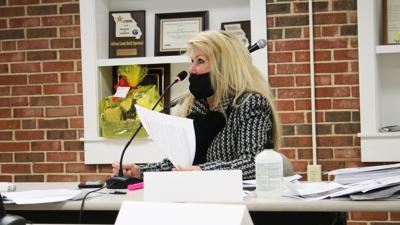 Jefferson County Health Department Board of Trustees member Suzy Davis criticized the COVID-19 color warning system the agency uses an called for and end to coronavirus testing in the county.