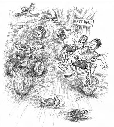 motorzing Katy Trail