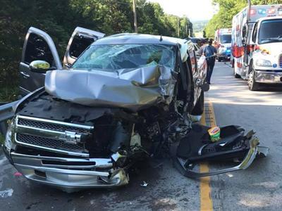 Seven people hurt in accident in Cedar Hill