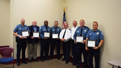 Pevely Police officers receive awards