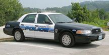 Crystal City Police car