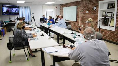 Jefferson County Health Department Board of Trustees met today.