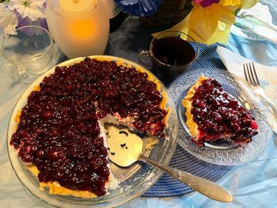 My Leader Yummy – Blueberry Cheesecake Pie