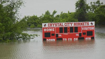 Crystal City flooding