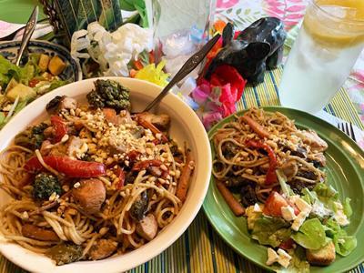 Thai Peanut Chicken One-Dish Meal
