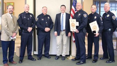 eureka police honored 2021