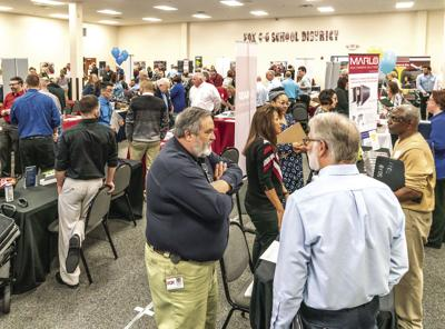 Job Fair attracts more than 500 prospective employees