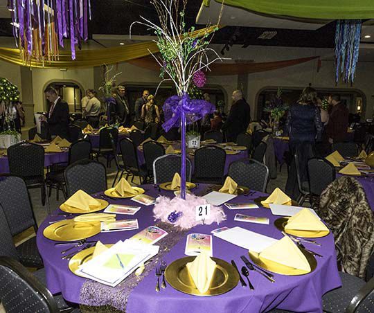 Mardi Gras Ball Decorations Brilliant Comtrea's A Safe Place Mardi Gras Ball  News  Myleaderpaper Inspiration Design