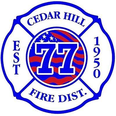 Cedar Hill Fire logo