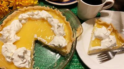 Delightful Lemon Cheesecake Pie