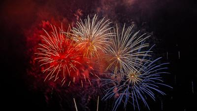Several fireworks displays will be held around the county Wednesday and Thursday.