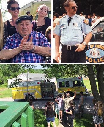 "Harold ""Frosty"" Frost 94th birthday parade"