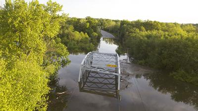 Flooding at Joachim Creek Bridge