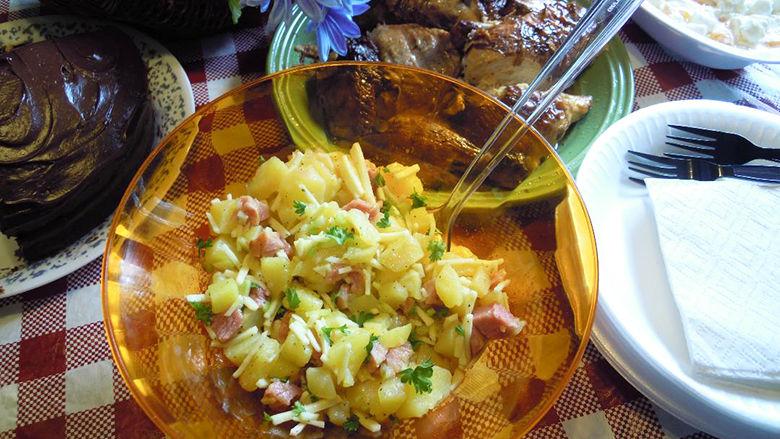my leader yummy swiss ham potato salad recipes myleaderpaper com rh myleaderpaper com